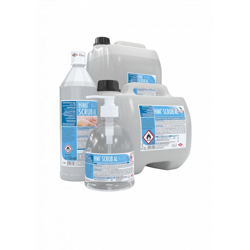 HMI® SCRUB AL - дезинфектант за ръце и кожа