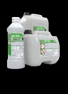 HMI® RODA - почистващ и дезинфекциращ концентрат за под и повърхности