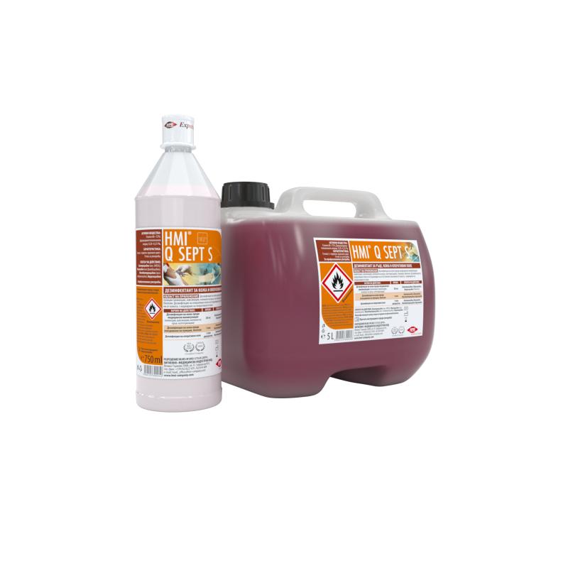 HMI® Q SEPT S - дезинфектант за оперативно поле - oцветен