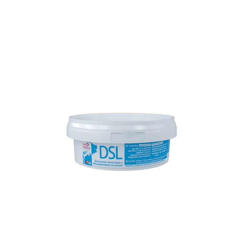 hmi®bioforce DSL - биологично отпушване, почистване и обезмирисяване на канали