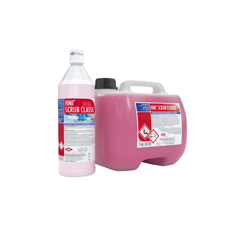 HMI® SCRUB CLASSIC -течен сапун за дезинфекция на ръце и тяло