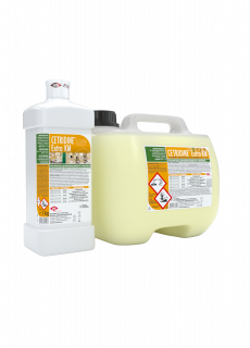 CETRIDINE® EXTRA KM - почистващ и дезинфекциращ концентрат за под и повърхности