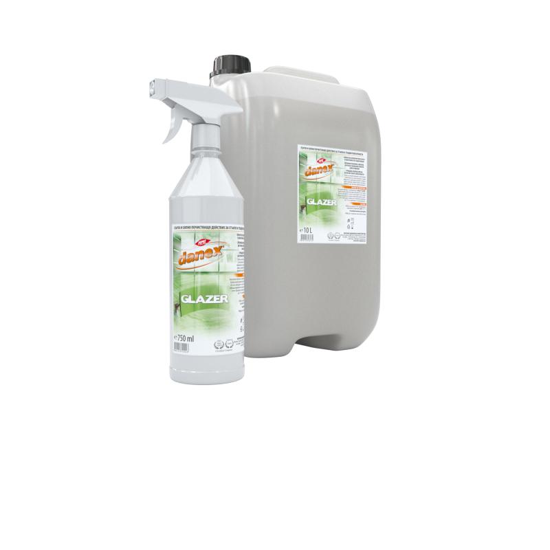 DANEX®GLAZER - препарат за силно замърсени стъклени и гладки повърхности